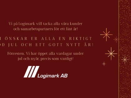 God Jul önskar Logimark!